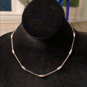 Silvertone Trifari Chain Necklace